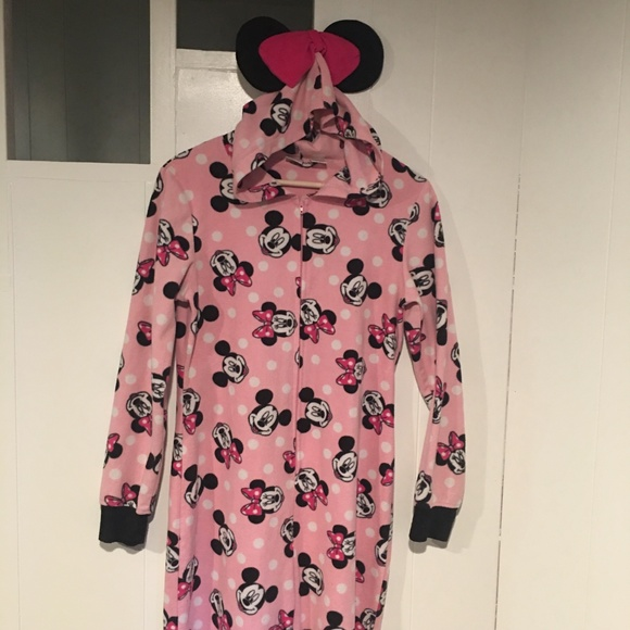 20aa4d9725 Disney Other - Disney Minnie Mouse Adult Onesie